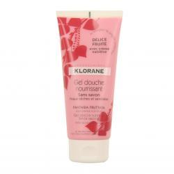 Klorane gel douche nourrissant secret d 39 amandier avec - Gel douche sans sodium laureth sulfate ...