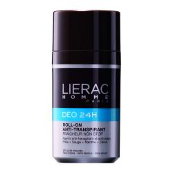 LIERAC Homme Déo 24h roll'on anti-transpirant roll'on 50ml