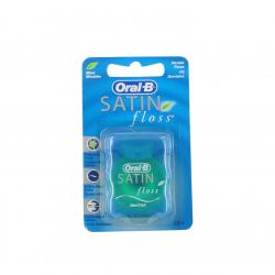 ORAL-B Satin floss fil dentaire menthol distributeur de 25m