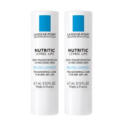LA ROCHE-POSAY Nutritic lèvres 2 sticks x 4,7ml