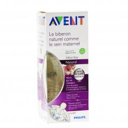 AVENT Biberon natural en verre 240ml