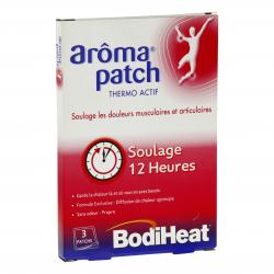 Bodiheat arôma patch x 3