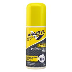 APAISYL Répulsif Poux lotion prévention poux flacon spray 90ml