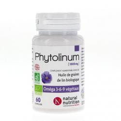 NATURAL NUTRITION Phytolinum pot de 30 capsules.