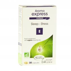 LE COMPTOIR AROMA Aroma express sommeil - stress 30 capsules