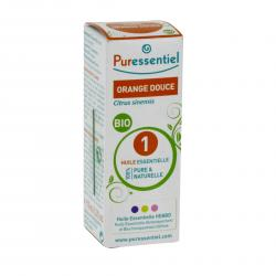 PURESSENTIEL Orange douce bio flacon 10ml