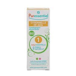 PURESSENTIEL Citronnelle de java bio flacon 10ml