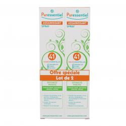 PURESSENTIEL Spray assainissant aux 41 huiles essentielles lot de 2 sprays 200ml