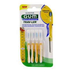 GUM Travler brossettes interdentaires n°1514 - 1.3mm x 4