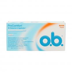 OB Tampons COMPACT APPLICATOR super x 16 avec applicateur