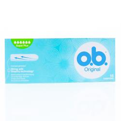OB Original tampons super plus x 16