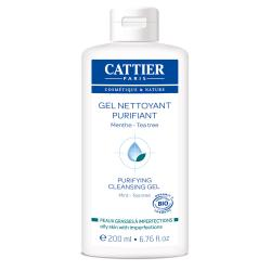 CATTIER Gel nettoyant purifiant bio flacon 200ml