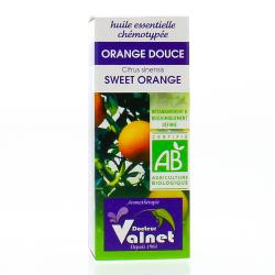 VALNET Huile essentielle d'orange douce bio flacon 10ml