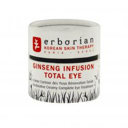 ERBORIAN Ginseng infusion total eye pot 15ml