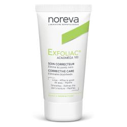 NOREVA Exfoliac Acnoméga 100 soin kératorégulateur matifiant tube 30ml