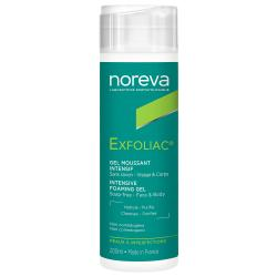 NOREVA Exfoliac gel moussant intensif flacon 200ml