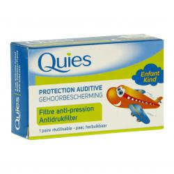 QUIES Protection auditive spécial avion enfant 1 paire