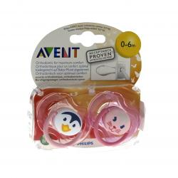 AVENT Sucette silicone animal