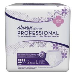 ALWAYS Discreet professional plus taille L x 12