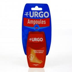 URGO ampoules TALON GD/FORMAT X5 ORANGE boîte de 5 pansements
