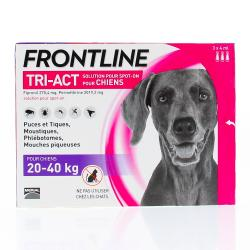 FRONTLINE Tri-act chiens 20-40 kg