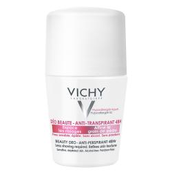 VICHY Déodorant déo beauté anti-transpirant 48h roll'on 50ml