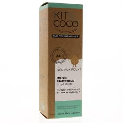 KIT & COCO Mousse protectrice et hydratante flacon pompe 75ml