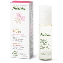 MELVITA Roll'on huile d'argan & géranium flacon 10ml