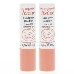 AVENE Soin lèvres sensibles lot de 2 sticks x 4g