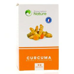 PRESCRIPTION NATURE Curcumin C3 90 gélules