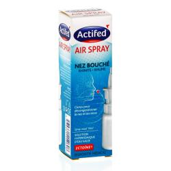 ACTIFED Air Spray nez bouché flacon 10ml