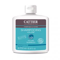 CATTIER Shampooing volume cheveux fins bio flacon 250ml