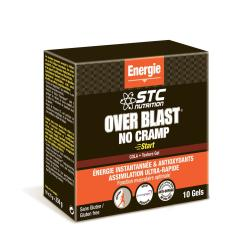 STC NUTRITION Over blast no cramp cola 10 gels