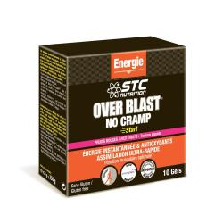 STC NUTRITION Over blast no cramp fruits rouges 10 gels