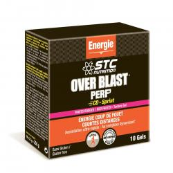 STC NUTRITION Over blast perf' fruits rouges 10 gels