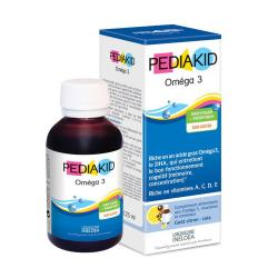 PEDIAKID Omega 3 sirop flacon 125ml