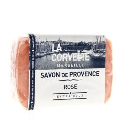 LA CORVETTE Savon pain Rose 100g