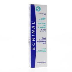 ECRINAL Gel fortifiant cils & sourcils à l'ANP 2+ Tube 9ml