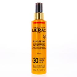LIERAC Sunissime Lait Protecteur Energisant Anti-âge Global  SPF30 Spray 150ml