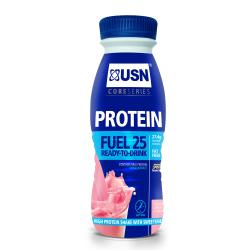 USN Protein Fuel 25 ready-to-drink fraise 330ml