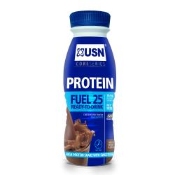 USN Protein Fuel 25 ready-to-drink chocolat 330ml