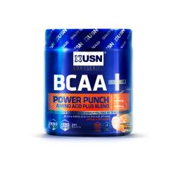 USN BCAA+ Power punch saveur tangerine pot 400g