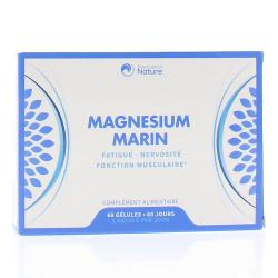PRESCRIPTION NATURE Magnésium marin 60 gélules
