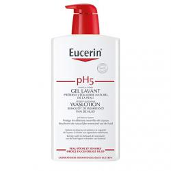 EUCERIN pH5 gel lavant flaon pompe 1l