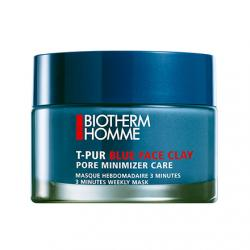 BIOTHERM Homme T-pur blue face clay pot 50ml