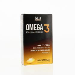 SID NUTRITION Omega 3 capsules x 60