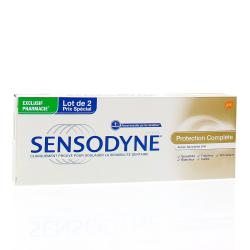 SENSODYNE Lot de 2 dentifrices Protection Complète tube 75mlx 2
