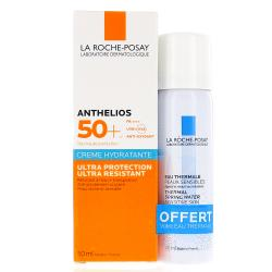 LA ROCHE-POSAY Anthelios crème hydratante ultra-protection SPF 50+ tube 50ml