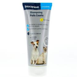 BIOCANINA Shampoing poils courts tube 200 ml