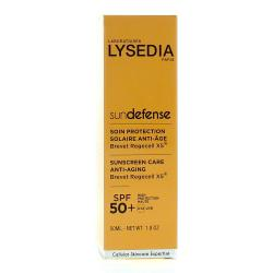 LYSEDIA SunDefense soin protection solaire anti-âge SPF50+ tube 50ml